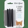 """Well & Good 2-Sided Cat Flea Comb, 3"""" L X 2"""" W - Thumbnail-1"""