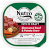 Nutro Grain Free Cuts in Gravy Simmered Beef & Potato Stew Wet Dog Food, 3.5 oz., Case of 24 - Thumbnail-1