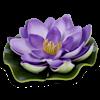 "Imagitarium Lotus Lounger Betta Bed, 4"" Diameter - Thumbnail-2"