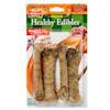 Nylabone Healthy Edibles Turkey & Apple Flavor Combo Regular Dog Bone Chews, 6.2 oz., Count of 4 - Thumbnail-1
