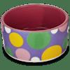 You & Me Pink Polka Dot Dish, Small - Thumbnail-1
