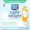 Fresh Step Simply Unscented Lightweight Clumping Cat Litter, 15.4 lbs. - Thumbnail-3