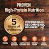 Wellness CORE Natural Grain Free Ocean Whitefish, Herring & Salmon Dry Dog Food, 22 lbs. - Thumbnail-7