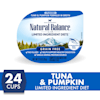 Natural Balance L.I.D. Limited Ingredient Diets Tuna & Pumpkin Formula in Broth Wet Cat Food, 2.75 oz., Case of 24 - Thumbnail-3
