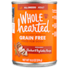WholeHearted Grain Free Adult Chicken and Vegetable Recipe Wet Dog Food, 13.2 oz., Case of 12 - Thumbnail-1