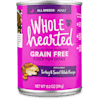 WholeHearted Grain Free Adult Turkey and Sweet Potato Recipe Wet Dog Food, 13.2 oz., Case of 12 - Thumbnail-1