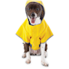 Good2Go Reversible Dog Raincoat in Yellow, Extra Small - Thumbnail-2