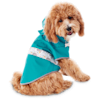 Good2Go Reversible Dog Raincoat in Blue, Extra Small - Thumbnail-1