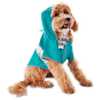 Good2Go Reversible Dog Raincoat in Blue, Extra Small - Thumbnail-2