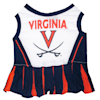 Pets First Virginia Cavaliers Cheerleading Outfit, X-Small - Thumbnail-1