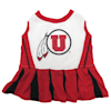 Pets First Utah Utes Cheerleading Outfit, X-Small - Thumbnail-1