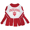 Pets First Indiana Hoosiers Cheerleading Outfit, X-Small - Thumbnail-1