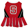 Pets First North Carolina State Wolfpack Cheerleading Outfit, X-Small - Thumbnail-1
