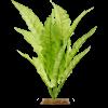 Imagitarium Bright Green Fern Silk Aquarium Plant - Thumbnail-1