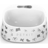 PetKit FRESH Smart Digital Feeding Pet Bowl -  Black & White - Thumbnail-1