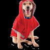 Good2Go Reversible Dog Raincoat in Red, Large - Thumbnail-2