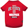 Pets First NC State Wolfpack NCAA T-Shirt for Dogs, X-Small - Thumbnail-1