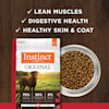 Instinct Original Grain-Free Recipe with Real Beef Freeze-Dried Raw Coated Dry Dog Food, 20 lbs. - Thumbnail-6