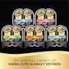 Sheba Perfect Portions Cuts in Gravy Multipack Salmon & Tuna Wet Cat Food, 2.64 oz., 12 Twin Packs - Thumbnail-10