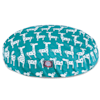 """Majestic Pet Stretch Turquoise Round Pet Bed, 42"""" L x 42"""" W - Thumbnail-2"""