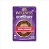 Wellness CORE Simply Shreds Natural Grain Free Chicken, Wild Salmon & Pumpkin Wet Dog Food Topper, 2.8 oz., Case of 12 - Thumbnail-1