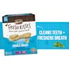 Merrick Fresh Kisses Mint Breath Strips Large Brush Dental Dog Treats, 16 Count - Thumbnail-5
