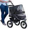 Pet Gear NV No-Zip Pet Stroller in Dalmatian - Thumbnail-2