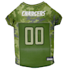 Pets First Los Angeles Chargers Camo Jersey, X-Small - Thumbnail-1