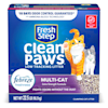 Fresh Step Clean Paws Multi-Cat Scented Clumping Cat Litter with the Power of Febreze, 22.5 lbs. - Thumbnail-1