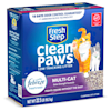 Fresh Step Clean Paws Multi-Cat Scented Clumping Cat Litter with the Power of Febreze, 22.5 lbs. - Thumbnail-4
