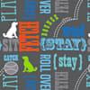 Paw Prints Food Bin Wordplay, 26 lbs. Capacity, Large - Thumbnail-5