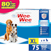Wee-Wee XL Potty Pads, 75 Count - Thumbnail-4