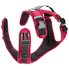 Gooby Pioneer Dog Harness with Control Handle & Seat Belt Restrain Capability Red, X-Large - Thumbnail-2