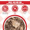 Cats in the Kitchen Mack, Jack and Sam Salmon, Mackerel & Skipjack Tuna in Gravy Recipe Wet Cat Food, 3 oz., Case of 12 - Thumbnail-4