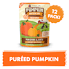 Weruva Pumpkin Patch Up! Pureed Pumpkin Food Supplement for Dogs and Cats, 2.8 oz., Case of 12 - Thumbnail-4