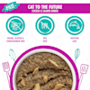 Cats in the Kitchen Slide 'n Serve Pate Cat to the Future Chicken & Salmon Dinner Wet Food, 3 oz., Case of 12 - Thumbnail-7