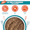 Cats in the Kitchen Pate Cat Times at Fridgemont Duck & Tuna Dinner in a Hydrating Puree Wet Cat Food, 3 oz., Case of 12 - Thumbnail-4