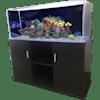 R&J Enterprises 48x18 Espresso Modern Aquarium Cabinet - Thumbnail-2