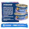 Soulistic Pate Chicken Dinner in a Hydrating Puree Wet Cat Food, 2.8 oz., Case of 12 - Thumbnail-5