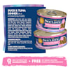 Soulistic Pate Duck & Tuna Dinner in a Hydrating Puree Wet Cat Food, 2.8 oz., Case of 12 - Thumbnail-5