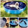 Kopeks Foldable Blue Grooming & Bathing Pool Tub for Dogs, Medium - Thumbnail-6