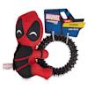 Marvel Deadpool Rubber Dog Toy, Small - Thumbnail-1