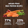 Instinct Original Grain-Free Recipe with Real Salmon Freeze-Dried Raw Coated Dry Cat Food, 10 lbs. - Thumbnail-6