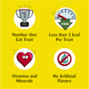 Temptations Jumbo Stuff Tempting Tuna Flavor Crunchy and Soft Cat Treats, 14 oz. - Thumbnail-9
