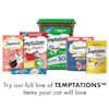 Temptations Jumbo Stuff Tempting Tuna Flavor Crunchy and Soft Cat Treats, 14 oz. - Thumbnail-10