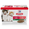Hill's Science Diet Kitten Wet Food Variety Pack, 2.9 oz., Count of 12 - Thumbnail-1