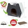 "Kitty City Cat Head Dome Scratcher, 20.5"" H - Thumbnail-7"