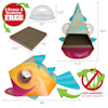 """Kitty City Dome Fish Scratcher for Cats, 18.5"""" H - Thumbnail-6"""