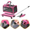 "Kopeks Pink Pet Carrier with Detachable Wheels, 20"" L X 13"" W X 11.5"" H - Thumbnail-9"