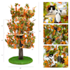 """On2Pets Large Round Summer Cat Tree, 60"""" H - Thumbnail-2"""